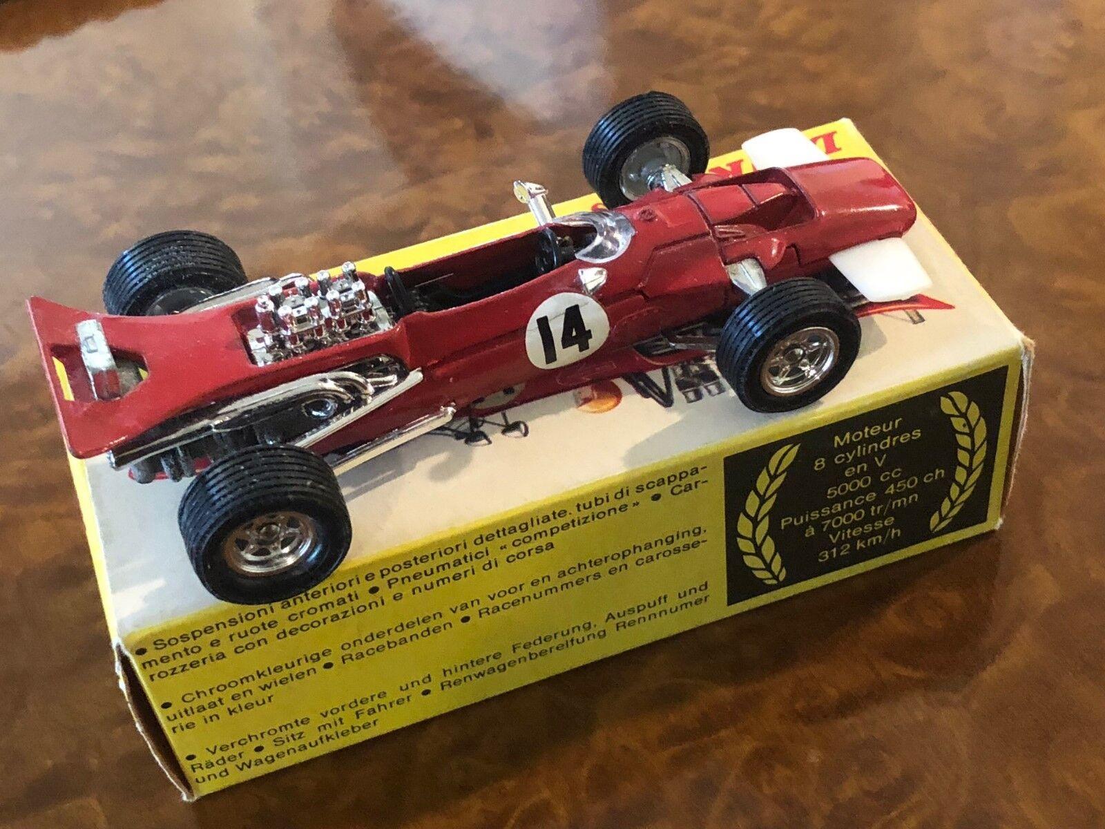 Vintage Dinky Toys Surtees Ts 5 F1 Grand Prix Voiture Objet N0. 1433