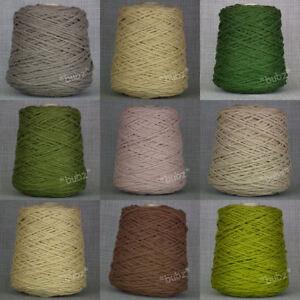 Super Chunky Pure Wool Rug Making Big 500g Cone Weave