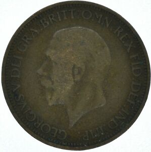 1932 HALF PENNY di George V. #WT16159