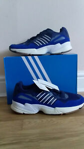 Miau miau Creo que cerebro  ADIDAS ORIGINALS YUNG-96 MEN G26331 Blue/Navy Blue Trainers UK 11 NEW WITH  BOX | eBay