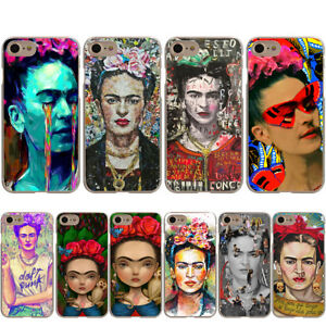 Frida-Kahlo-Cover-Case-for-Apple-iPhone-X-8-7-6-6S-Plus-5-5S-SE