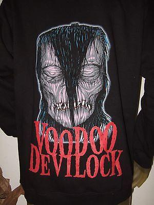 Misfits Voodoo Devilock Black T Shirt New Official Band Merch Danzig