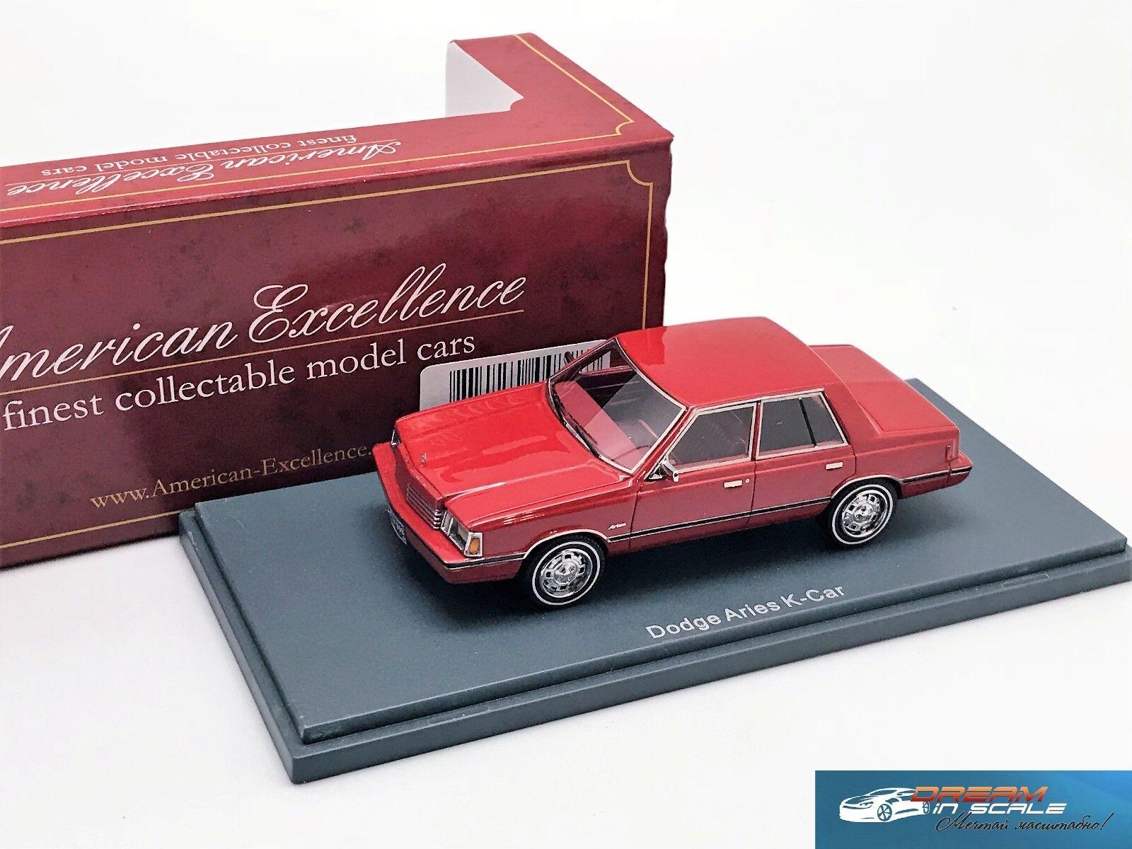 Dodge Aries K-voiture rouge 1983 NEO 44898 1  43  design unique