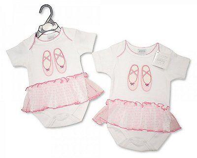 Volantes Fancy Baby Girl Traje Tutú Cuerpo Chaleco Con Zapatos De Ballet/Flores NB-6 M