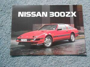 1985 NISSAN 300ZX TURBO UK DEALER SALES BROCHURE ENGLAND RHD ...