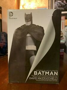 Batman-Black-and-white-DC-Collectibles-second-edition-hand-sculpted-cold-cast