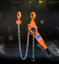 Chain Lever Block Hoist Come Along 2 Hook Ratchet Lift 15 Ton 3300lb Hot Us