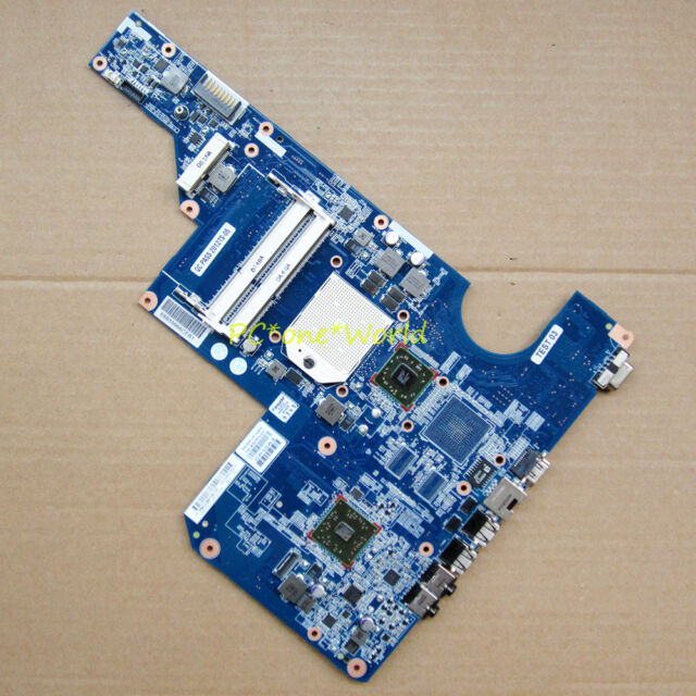 597674-001 HP CQ62 G62 laptop motherboard AMD ATI Radeon HD socket S1 DDR3