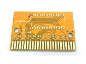 Cartridge ROM PCB for MSX (for 64 kB EPROMs)