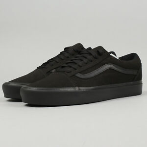 vans old skool black 44 herren