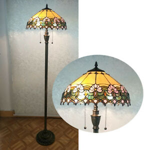 Floral-Design-Tiffany-Style-Floor-Lamp