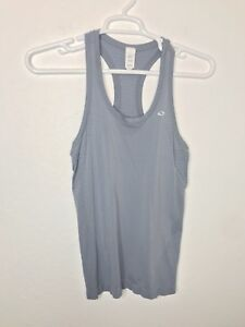 48b367e5be0718 c9 Champion Womens Activewear Tank Top Racer Back Duo Dry Gray Size ...