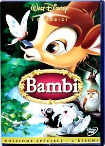Dvd Bambi - Edición Especial 2 discos Classici Disney Holograma lado 1942 Usado