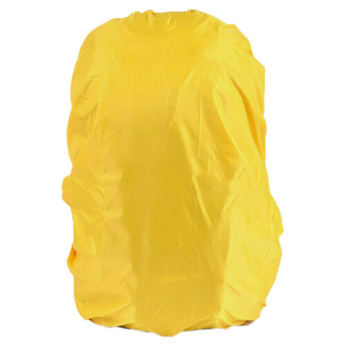 Yellow Waterproof Travel Camping Hiking Backpack Dust Rain Cover 30L-40L
