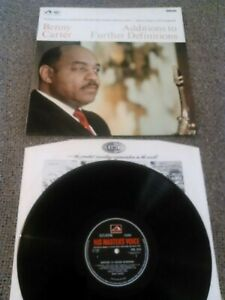 BENNY CARTER - ADDITIONS TO FURTHER DEFINITIONS LP EX!!! RARE UK STEREO 1ST HMV