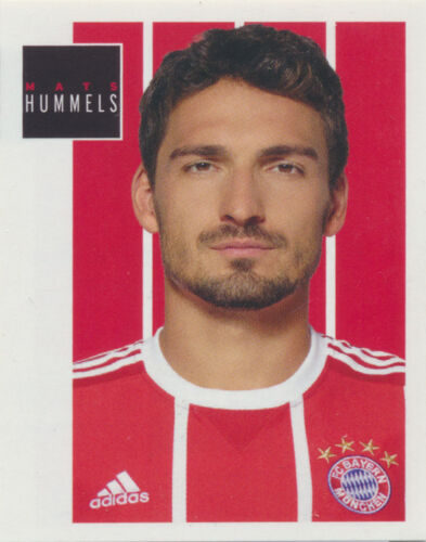 BAM1718 Sticker 44 Panini FC Bayern München 2017//18 Mats Hummels