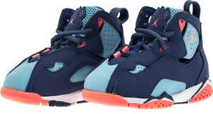 on sale 16806 1eecc ... Air-Jordan-Vrai-Flight-Garcon-Chaussures-Bebe-Violet-