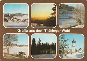 Gruesse-aus-dem-Thueringer-Wald-Ansichtskarte-1986-gelaufen
