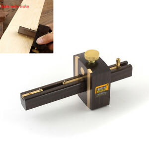 Luxury-Ebony-Copper-Scribers-Screw-Cutting-Mark-Gauge-Woodworking-Carpenter-Tool
