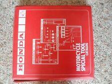 Honda Original Factory Service Special Tool News Catalog Manual 82-86 W/Binder