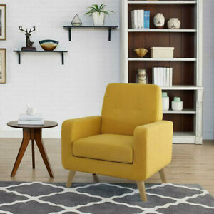Brilliant Details About Modern Arm Chair Accent Single Sofa Fabric Upholstered Living Room Furniture Us Bralicious Painted Fabric Chair Ideas Braliciousco