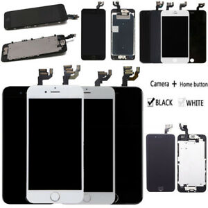 For iPhone 6S 7 8 6 Plus LCD Display Screen Touch Digitizer Replacement +Camera