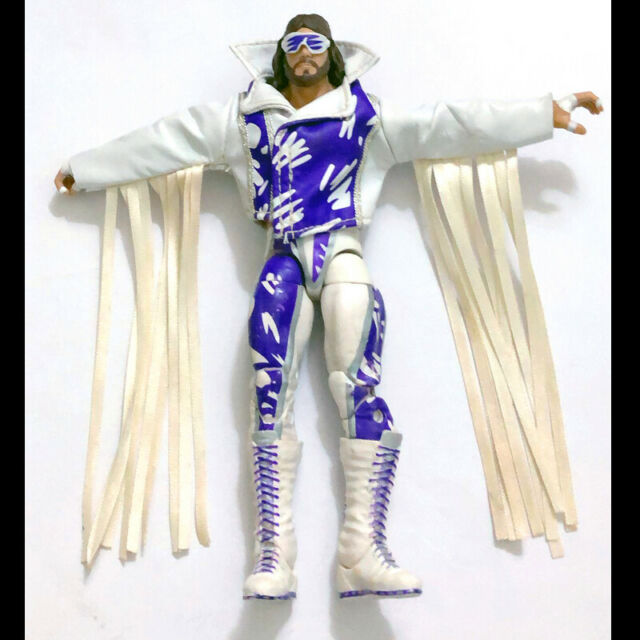 WWE WWF Defining Moments Macho Man Randy Savage Wrestling Action Figure Kid Toy