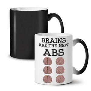 Brains Geek NEW Colour Changing Tea Coffee Mug 11 oz | Wellcoda