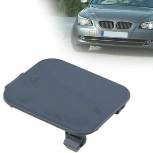 Front Bumper Tow Towing Hook Eye Cover Cap for MW 5-Series E60 Saloon 2005-2009