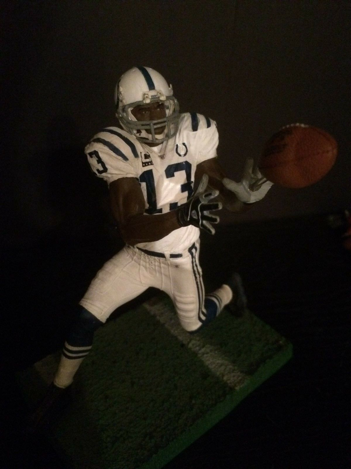 TY Hilton Indianapolis Colts Jersey Custom 6  Mcfarlane Figure