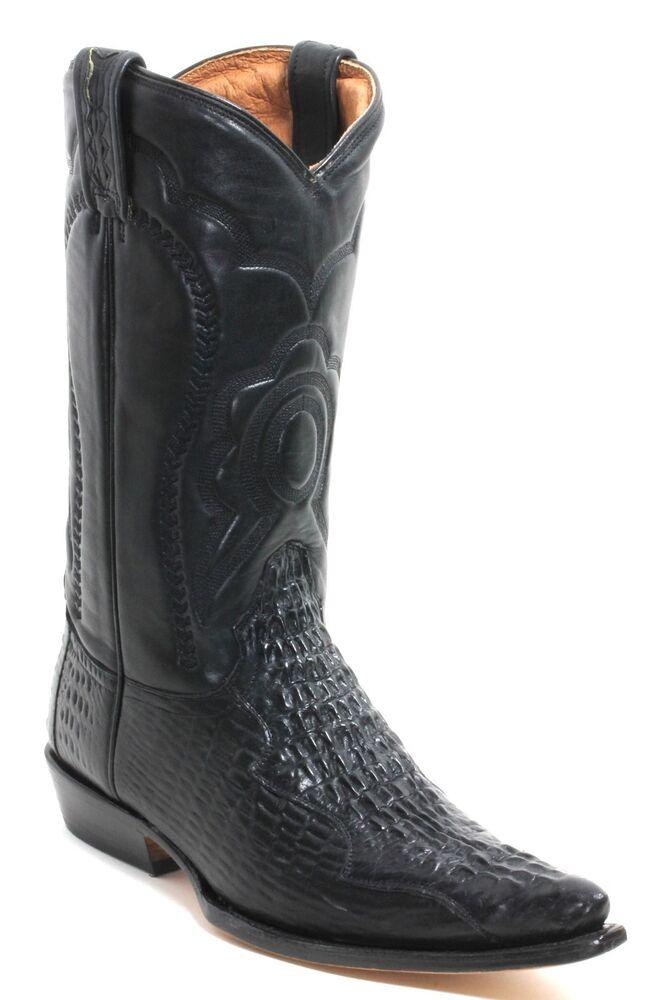 11 Bottes De Cowboy Western Texas Broderie Catalan Style Crocodile 38