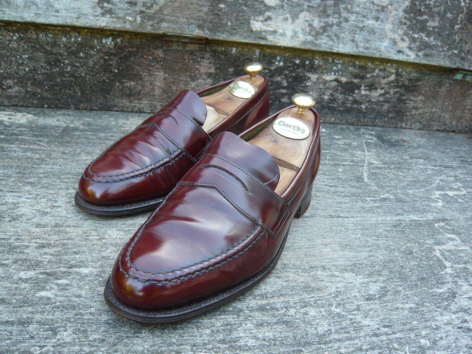 CHEANEY Mocasines Calzado Para Hombres – Marrón-– Drummond-Excelente Estado