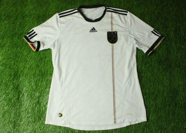 Germany Soccer Jersey Medium 2010 2012 Home Shirt P41477 adidas ...