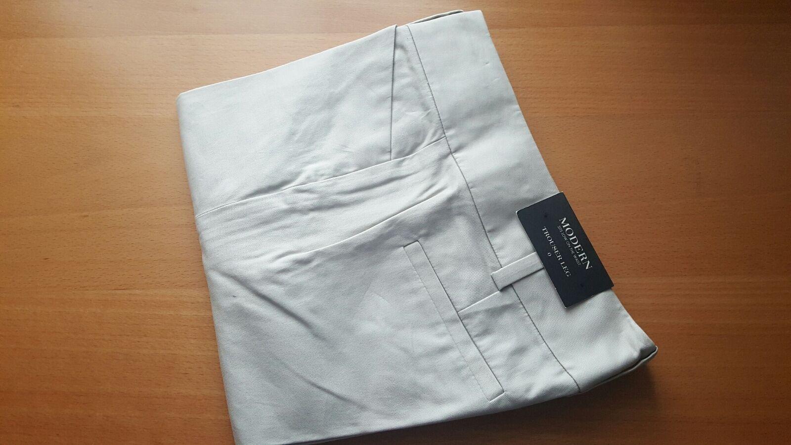 Ann Taylor NWT low waist modern trouser leg pants size 0