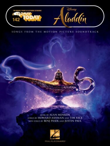 Aladdin Sheet Music E-Z Play Today Book NEW 000300288