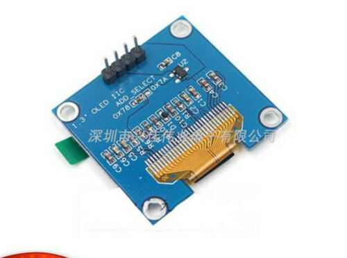 1PC NEW 0.96 Inch white 4-pin IIC communication small OLED module display 51