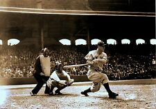 RARE  NEW YORK YANKEES Still  Lou Gehrig Taking A Swing Great Shot
