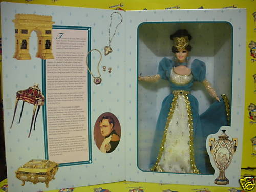 BARBIE COLLEZIONE FRENCH LADY SERIE THE GREAT ERAS