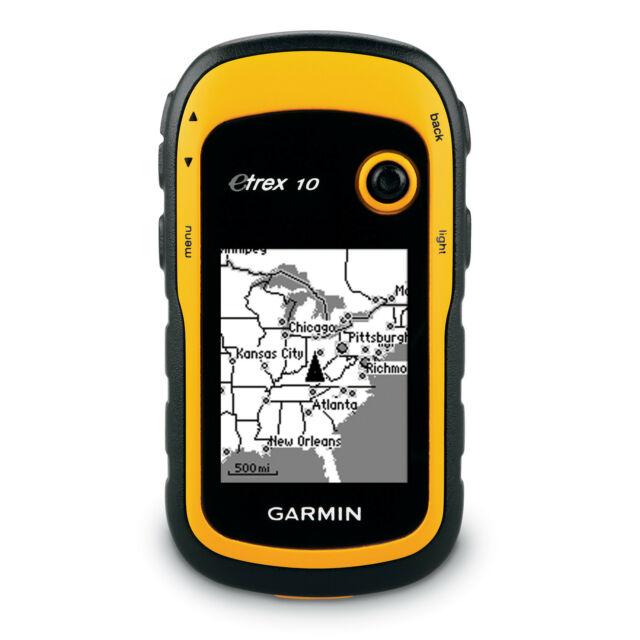 Garmin eTrex 10 Handheld Outdoor Hiking GPS Receiveer 010-00970-00