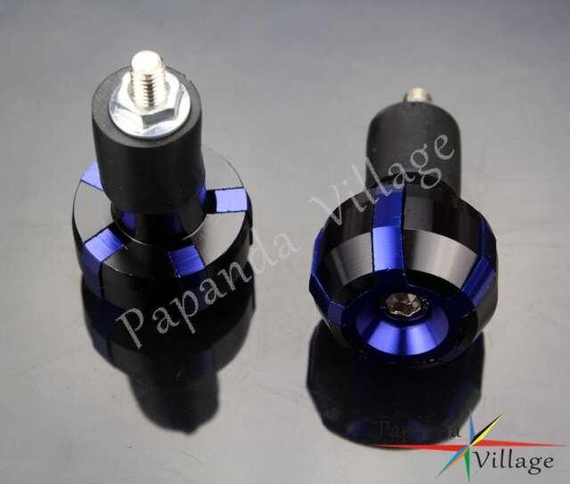 Motorcycle 7//8 /'/' Handlebar Bar End Plugs Slider Grips For Yamaha WR450F YZ XT