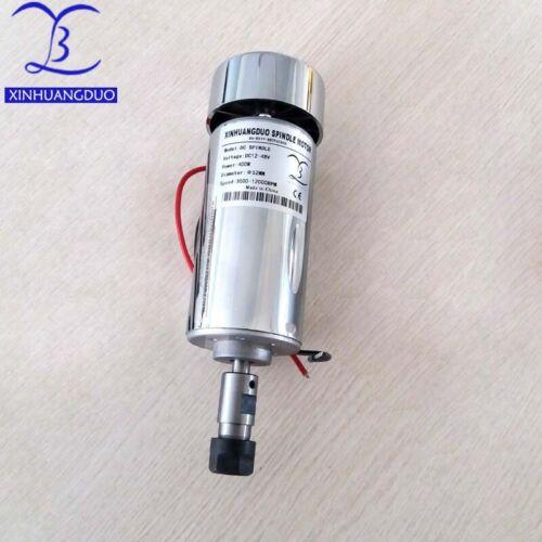 air-cooling spindle motor DIY DC12-48V ER11//ER16 12000rpm 400W Spindle motor