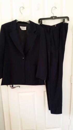 Gianfranco Ferre Navy Pant Suit - Size S
