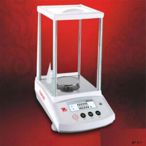 Ohaus PR224ZH Internal Calibration 220g 0.0001g Scale Analysis Balance