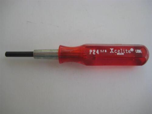 """1x Xcelite Miniature Hex Allen Socket Driver pouces ou métrique /""""NOS/"""" 3-1//2/"""" L"""
