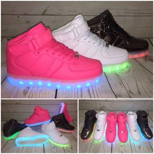2016 HIGH Cut LED LIGHT Farbwechsel Sportschuhe / Sneakers / Schuhe