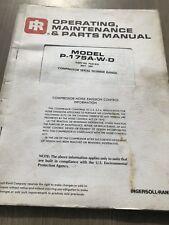 ingersoll rand p260 manual