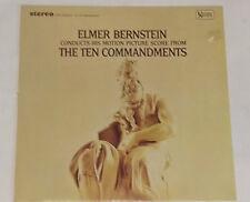 THE TEN COMMANDMENTS - Elmer Bernstein - LP Soundtrack  OST