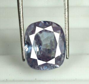 Discount Sale Purple Sapphire Gemstone 9.15 Ct Cushion Natural Certified S6183