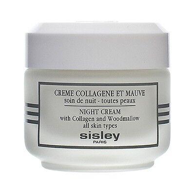 Sisley Night Cream with Collagen Woodmallow Face Moisturizers NEW 50ml #315