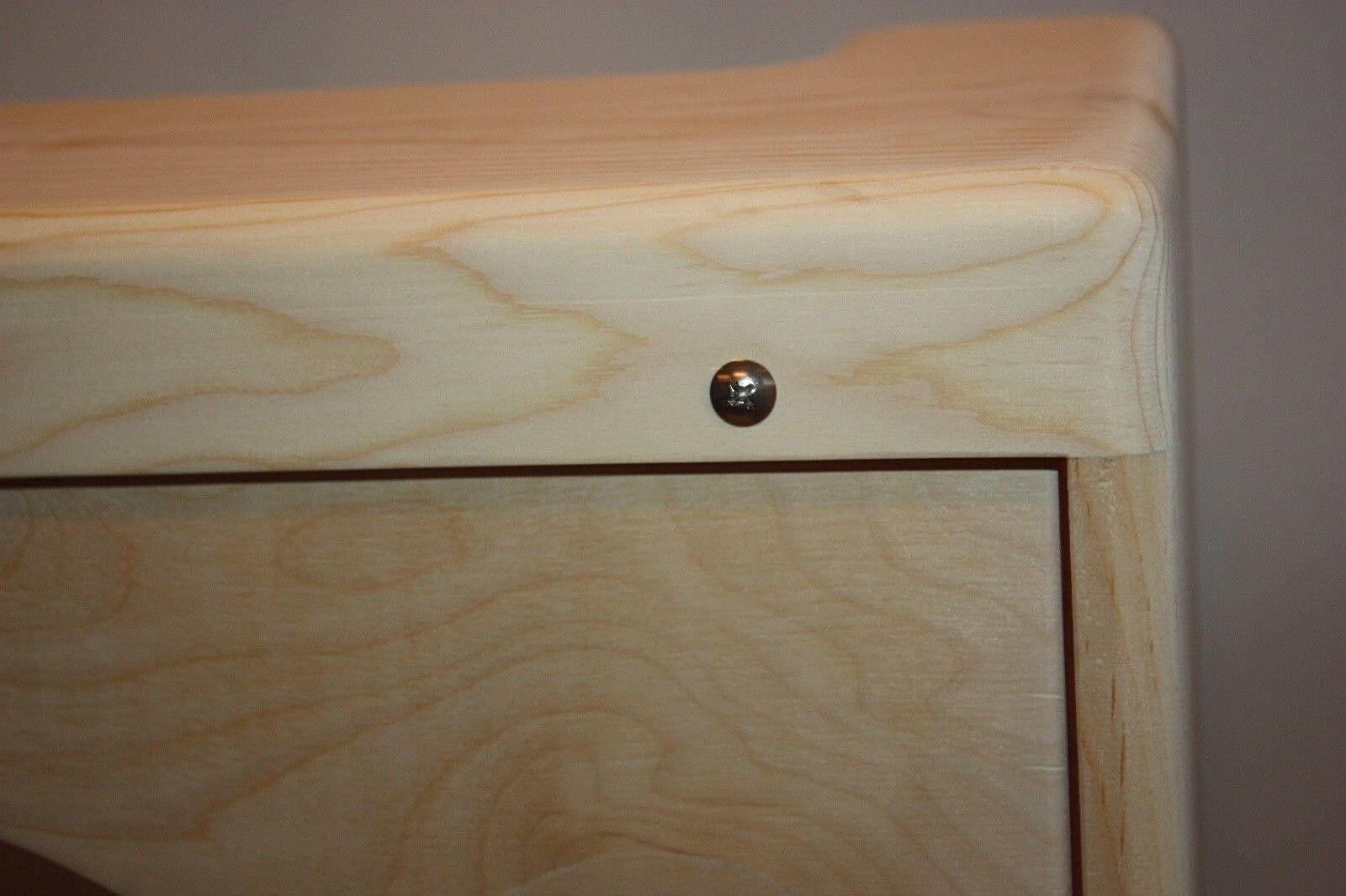 Rawcabs 5F11 1x10 estrecho Panel de pino sin rematar rematar rematar Tweed Vibrolux Cambo 38ad20